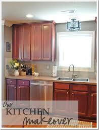 upper kitchen cabinets pbjstories screenbshotb: pbjstoriescom kitchen updates small changes make big impact