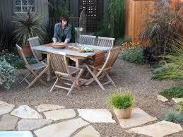 grey natural stone paving garden