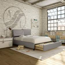 amisco surrey bed furniture bedroom urban collection contemporary upholstered bed with storage drawer amisco bridge bed 12371 furniture bedroom urban