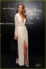 hollywood glamour: rosie huntington whiteleylove this look sexy yet elegant