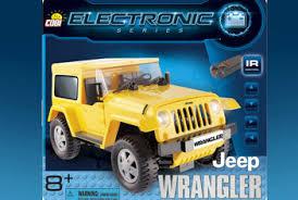 <b>Конструктор COBI</b> Electronic. <b>Jeep</b> Wrangler желтый COBI-21921