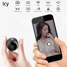 <b>Icy Mini</b> Wireless Camera WiFi <b>HD 1080P</b> Home Security Night ...