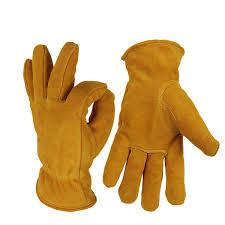 <b>Genuine</b> Cowhide Cold-resistant Thickening Warm <b>Ski Gloves</b> ...