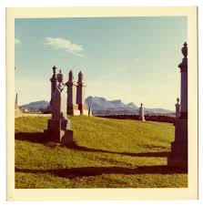 philip larkin s life behind the camera the new yorker a graveyard in oban scotland late nineteen sixties