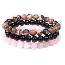 Мужской/женский <b>браслет</b> с бусинами из натурального камня ...