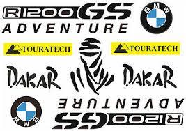 <b>BMW</b> GS Adventure Dakar Decals Stickers Bike Graphic Set Vinyl ...