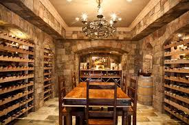 mediterranean wine cellar barrel wine cellar designs