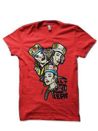 Красная <b>футболка</b> с надписью «<b>Salt</b> N Pepa <b>Old</b> School ...
