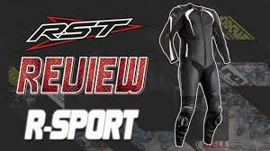 RST R-<b>Sport</b> CE One Piece Leather Race <b>Suit</b> Review | Sportbike ...