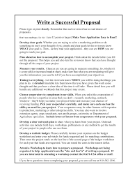 how to start a proposal essay how to write a successful proposal tcrf