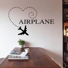 wall decal family art bedroom decor aliexpresscom buy diy wall sticker airplane quote family wedding decoration bedroom vinyl wall home room decor diy art decals wallpaper xcm from
