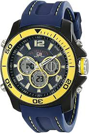 <b>U.S. Polo</b> Assn. Sport Men's US9322 Navy Rubber Analog Digital ...