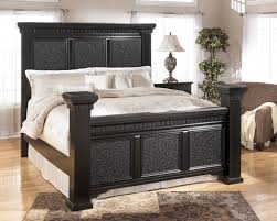 the best contemporary black paint wood ashley mansion king bed frames cavallino design models with high fancy black bedroom sets