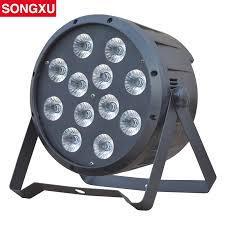 SONGXU <b>Newest 10W</b>*12PCS <b>high power</b> rgbw 4in1 led par light ...