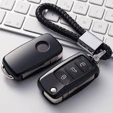 <b>OkeyTech</b> Soft <b>TPU Car Key</b> Fob Cover With <b>Key</b> Chain For VW ...