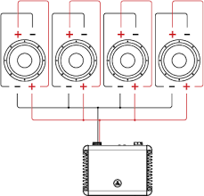 jl audio acirc header acirc support acirc tutorials acirc tutorial wiring dual 4 dvc drivers voice coils in parallel parallel
