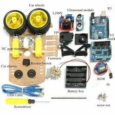 Robot <b>Chassis Auto Smart Car</b> Kit For Arduino MCU Practical High ...