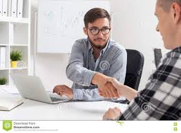 meeting hr manager stock photo image  meeting hr manager