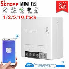 <b>Sonoff MINI R2 2</b> Way Smart DIY APP Switch Small WiFi Switch for ...