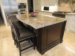 Different Kitchen Cabinets Two Tone Kitchen Cabinets With Leathered Almond White Granite