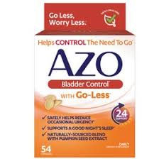Azo <b>Bladder Control</b> Dietary Supplement with <b>Go</b>-<b>Less</b> - 54 ct | Rite Aid