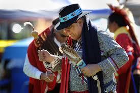 u s department of defense photo essay ted tenorio native american veteran s association president and army vietnam veteran dances during the