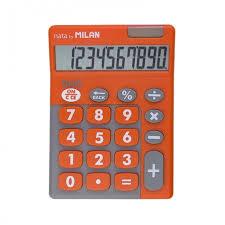 <b>Milan Калькулятор</b> настольный 10 разрядов двойное питание ...