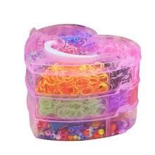 Цветные <b>Резиночки для плетения</b> браслетов Twister Case Kit ...