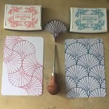 Fabric <b>printing</b> block stamp no.5 #bymamalaterre #stampart ...