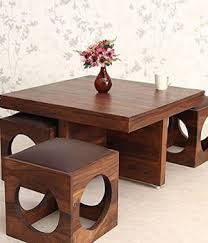Suncrown Furniture Sheesham Wood Solid Wood <b>Coffee Table</b> ...