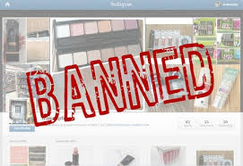 new insram account or how my makeup addiction got me banned from insram