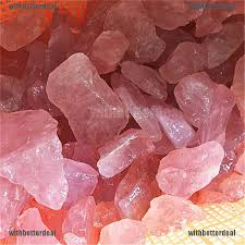 <b>1PC Natural</b> Pink Fluorite <b>Quartz Crystal</b> Stones <b>Rough</b> Polished ...