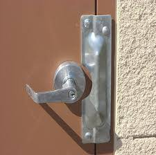 Entrance Door Lock Security Latch Protectors Also Known As Guards Or Plates Reliable Home And Business Security  Prevents Latch Manipulation