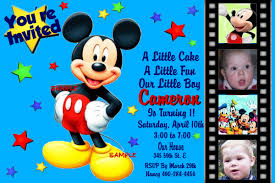 mickey mouse birthday invitation template ctsfashion com mickey mouse birthday invitations cards mickey mouse invitations