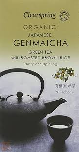 Clearspring <b>Organic Genmaicha</b> Green Tea With Rice (Pack of 3 ...