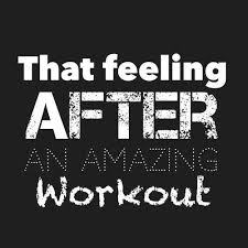 That feeling after an amazing workout | Fitness Quotes IMG