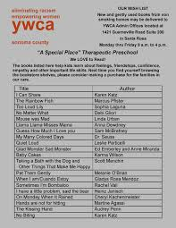 a special place book list ywca sonoma county a special place book list