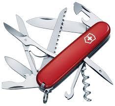 <b>Мультитул Victorinox Huntsman</b> 1.3713 91 мм красный, 15 функций