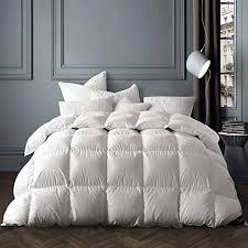 Globon Winter White Goose Down Comforter King ... - Amazon.com