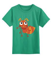 Детская футболка классическая унисекс <b>Муравей</b> #2801957 за ...