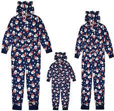 <b>Christmas</b> Pyjamas Family Sleepwear Romper Jumpsuit Merry ...