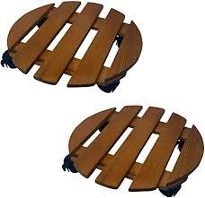 HowPlumb 2 Pack of 14-in. Round Wood Roller ... - Amazon.com