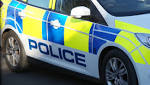 Slow-moving traffic after collision in Budleigh