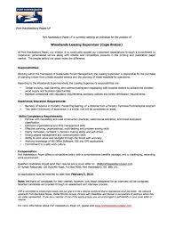 job opportunity woodlands leasing supervisor millbrook < back to news list