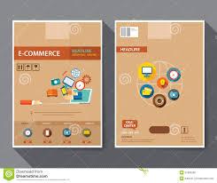 e commerce online marketing magazine cover flyer stock vector set of e commerce magazine cover flyer brochure flat design t royalty