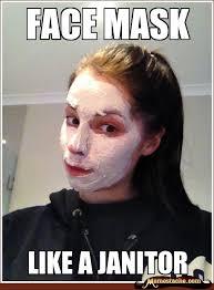 Face Mask - Memestache via Relatably.com