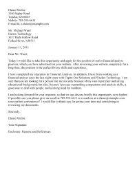 analyst cover letter sample resume cover letter  seangarrette cosample cover letter for resume for financial analyst senior financial analyst cover letter template