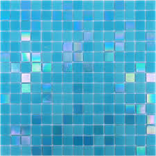 <b>orro mosaic стеклянная мозаика</b> dori blue 32,7x32,7x0,4