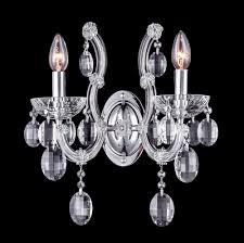 <b>Бра Crystal Lux HOLLYWOOD</b> AP2 CHROME купить в Москве ...