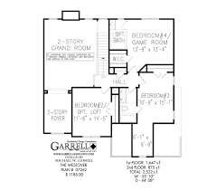 Westover House Plan   House Plans by Garrell Associates  Inc     westover house plan   nd floor plan